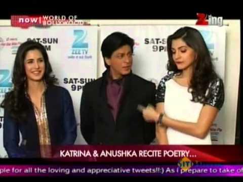 Shahrukh Khan-Anushka Sharma-Katrina Kaif, On Zee Tv's 'Sa Re Ga Ma Pa'