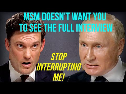 Putin Answers Questions To NBC Before Summit With Biden! Wat