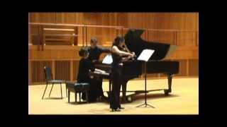 """Ludwig van Beethoven: Violin Sonata #9, op. 47 (""""Kreutzer""""). I. Adagio sostenuto. Presto."""