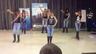 Бар Гадкий Койот выступил на предпремьерном показе фильма Форсаж 6 в КИНОСИТИ Новосибирске