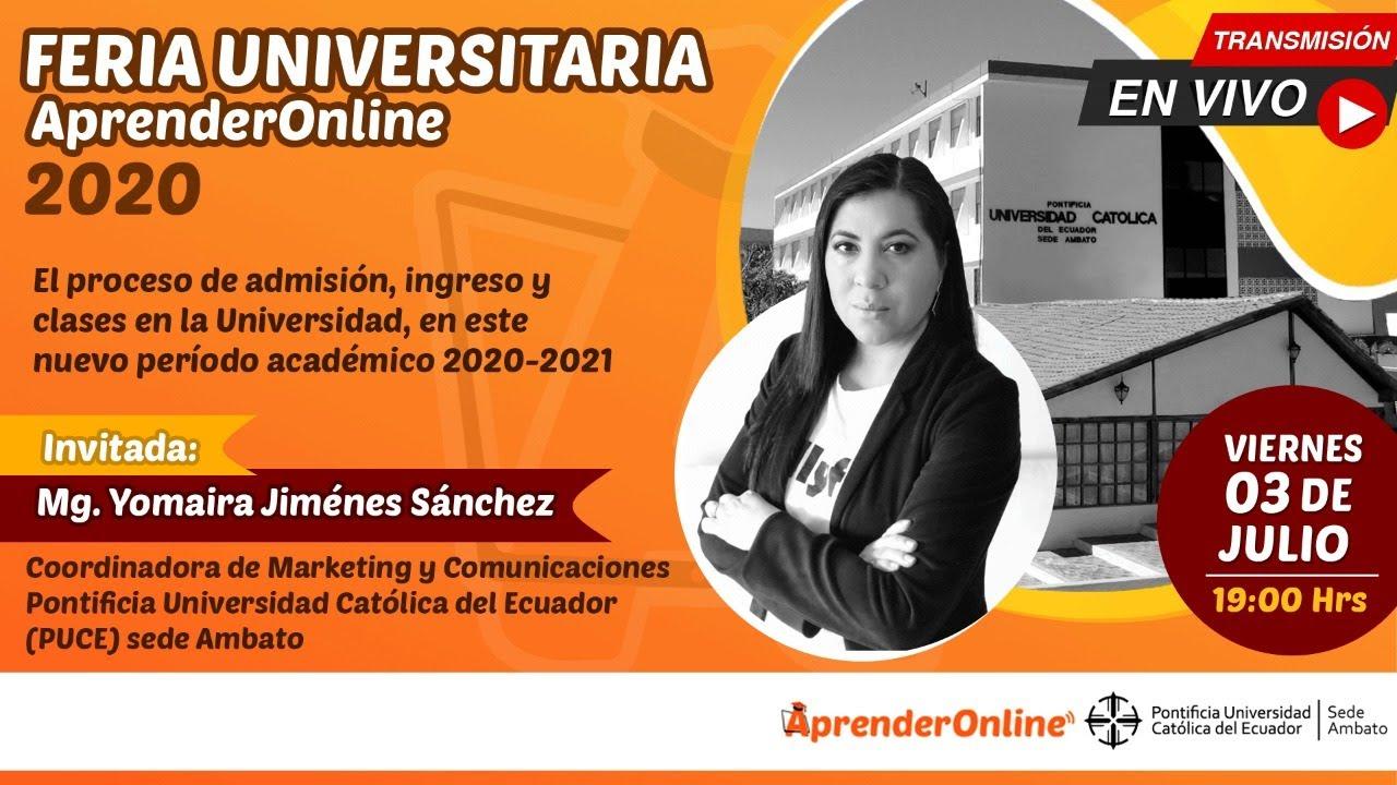 Feria Universitaria /  AprenderOnline 2020 / PUCE