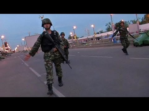 Thai troops stage coup in attempt to end political crisis - no comment
