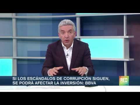 Si los escándalos de corrupción siguen, se podrá afectar la inversión: BBVA