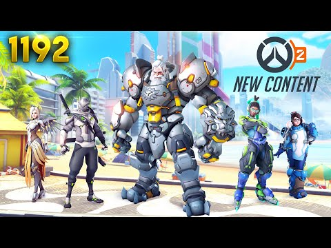 Overwatch 2 *NEW* CONTENT & INFO!! | Overwatch Daily Moments Ep.1192 (Funny and Random Moments)