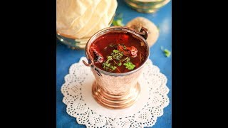 BEETROOT RASAM / INSTANT RASAM RECIPE