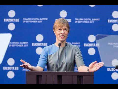 Tallinn Digital Summit – Opening address by Estonia's President Kersti Kaljulaid