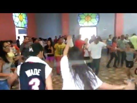 Azucar y guaguanco con Yakera academia de baila Rueda de casino