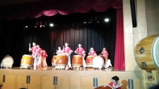港大同學會書院十週年開放日鼓隊太鼓表演