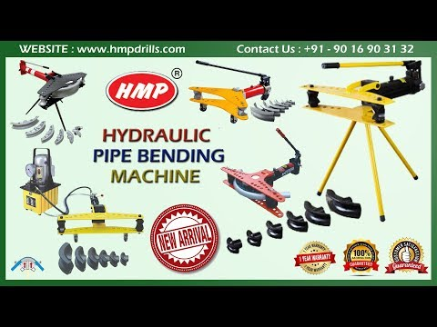 HMP Hydraulic Pipe Bender | Working Operation | How to Bend | Pipe Bending Machine Manufacturer