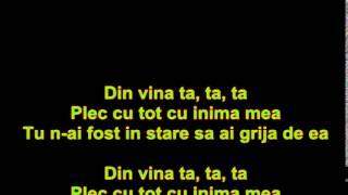 Alex Velea-Din vina ta (versuri\lyrics)
