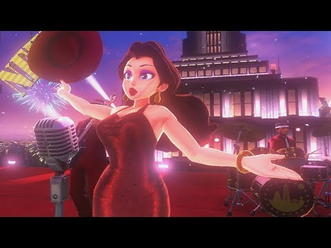Super Mario Odyssey - Pauline Band Festival w/ Jump Up Super Star