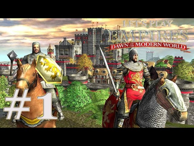 Let S Play Empires Dawn Of The Modern World Ep 1 Youtube