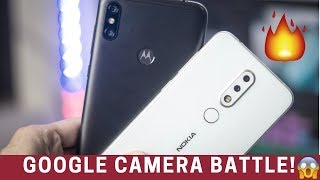 MOTOROLA ONE POWER + GOOGLE CAMERA 🔥🔥 | Nokia 6.1 Plus Comparison!
