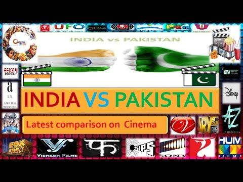 India Vs Pakistan  Latest comparison on  Cinema (2017)