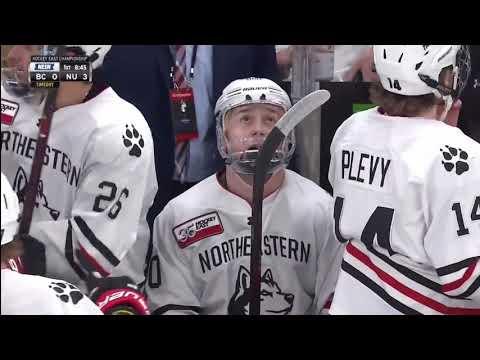 2019 Hockey East Championship: Northeastern Vs. Boston College