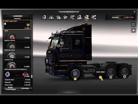 Euro truck simulator 2 scania 143m v8 skin youtube