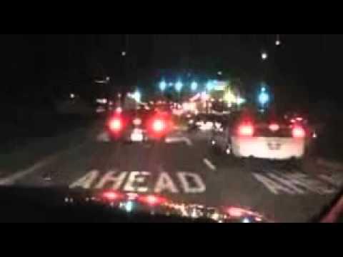 UFO SHOT DOWN AND TRANSPORTED THROUGH CALIFORNIA NOVEMBER 7 2010.wmv
