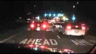 UFO SHOT DOWN AND TRANSPORTED THROUGH CALIFORNIA NOVEMBER 7 2010.wmv