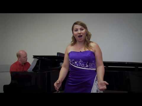 A. Messager:Madame Chrysanthème:Le jour sous le soleil béni... - Vida Anikó soprano