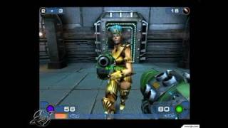 Unreal Tournament 2003 PC Games Gameplay - Mixing it up