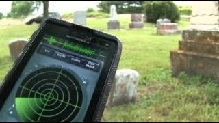 """HOW TO USE"""" GHOST RADAR APPLICATION"""" IN A  CEMETERY !"""