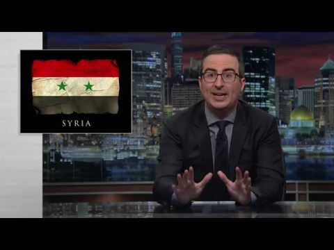 Last Week Tonight With John Oliver - Syria Airstrike (Part 2)