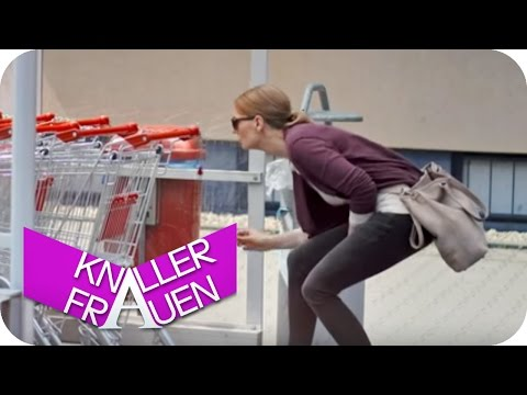 Knallerfrauen mit Martina Hill | Einkaufswagen
