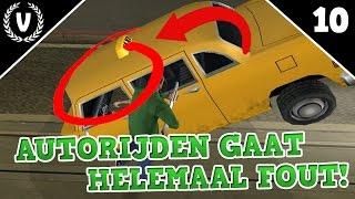 AUTORIJDEN GAAT HELEMAAL FOUT! - GTA: San Andreas - Aflevering 10