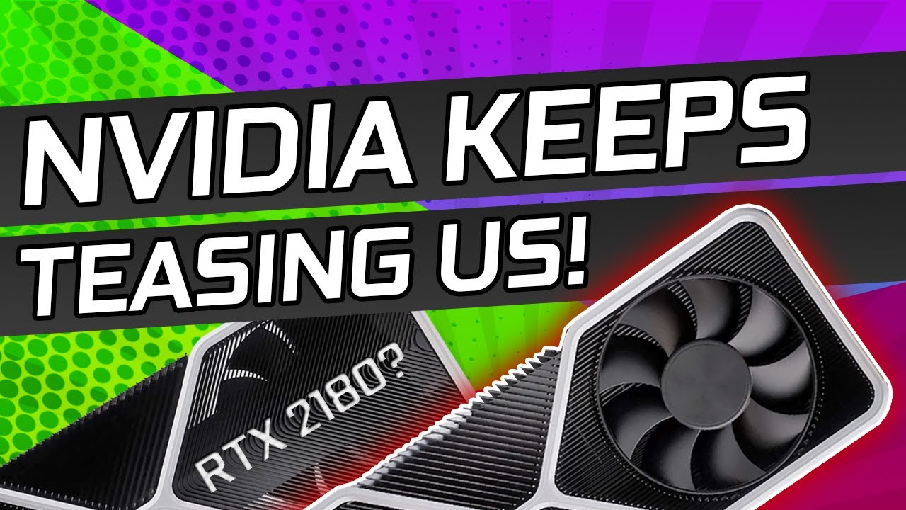 OFFICIAL RTX 3000 Series Announcement Is Here! Custom GPU's Are Also Coming!