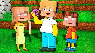 VIRAMOS OS SIMPSONS NO MINECRAFT !