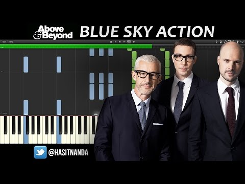 Above & Beyond - Blue Sky Action (Piano Tutorial)