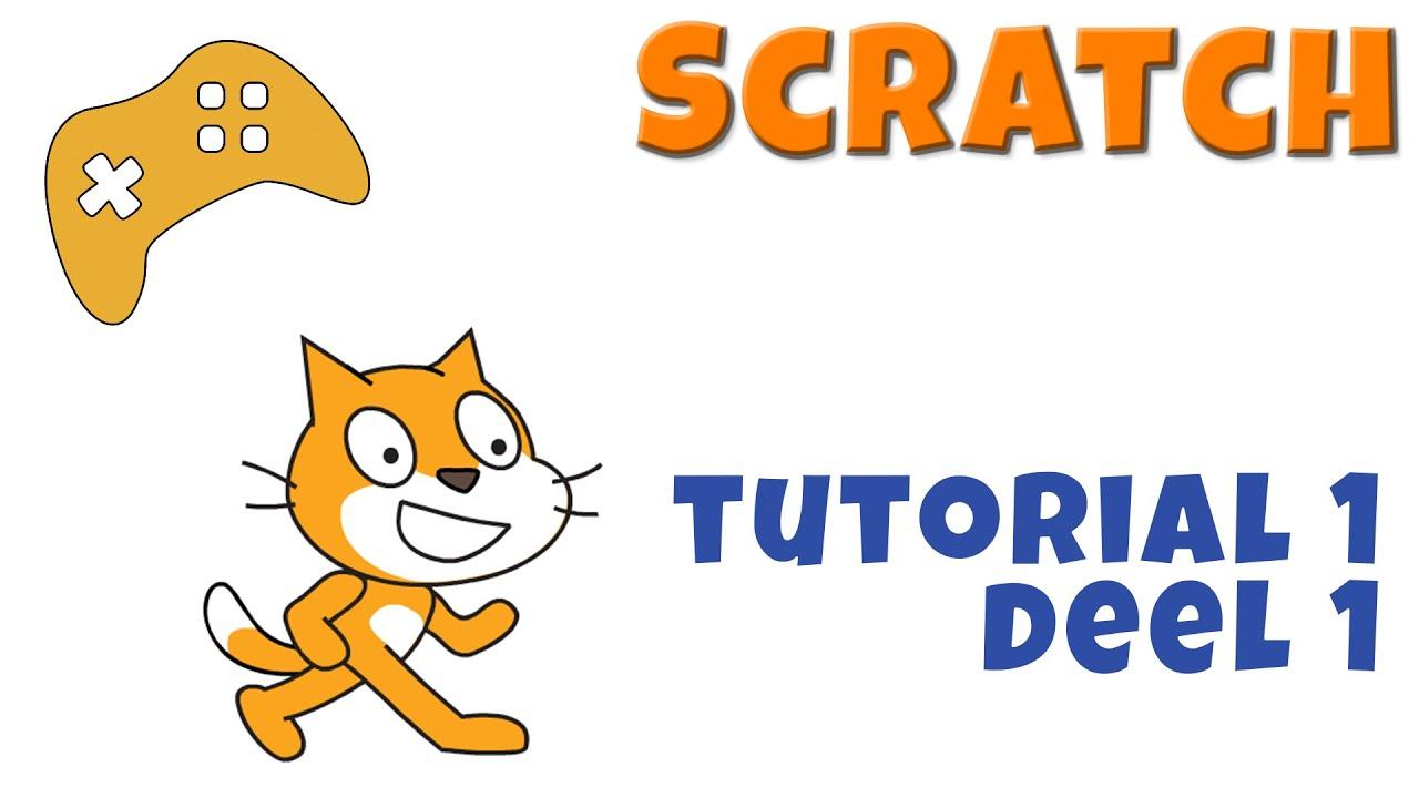 Scratch Tutorial 1 A Programmeren Voor Kinderen Zelf Games Maken