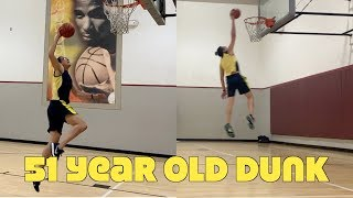 Slam Dunking at 51 (& Vegan)!