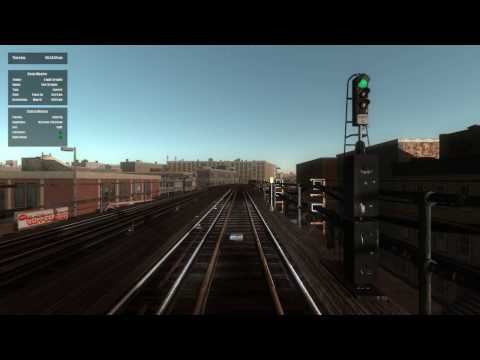 World of Subways 4: New York Line 7 - (Evening Shift) - To Flushing (Main St)