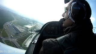 Engine Failure, Emergency Landing Near Prague