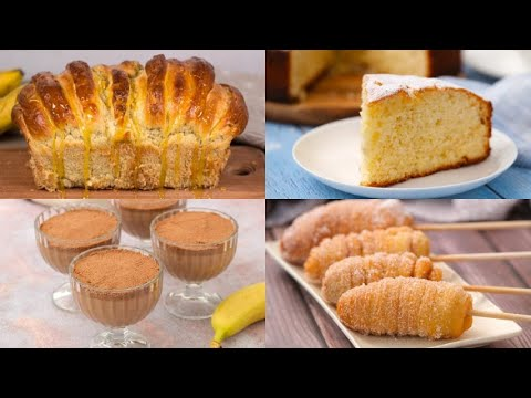 6 mouth-watering and easy-to-prepare banana recipes