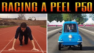 ME vs THE MIGHTY PEEL P50 | Forza Horizon 4 Dragracing Challenge