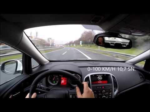 2016 Opel Astra Sedan 1.6 Cdti 136 Hp 6AT 0-150 Km/h Hızlanma