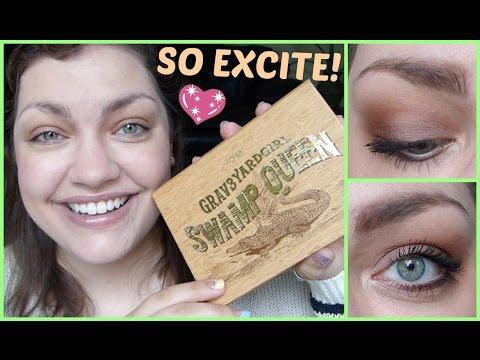 GRWM: tarte x grav3yardgirl Swamp Queen Palette + Snapchat Q&A #4!! (#OctolySummerChallenge)
