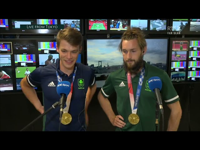 Tokyo 2020: Fintan McCarthy and Paul O'Donovan on their gold medal win