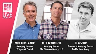 BevNET Live: Panel: The State of Beverage Investment