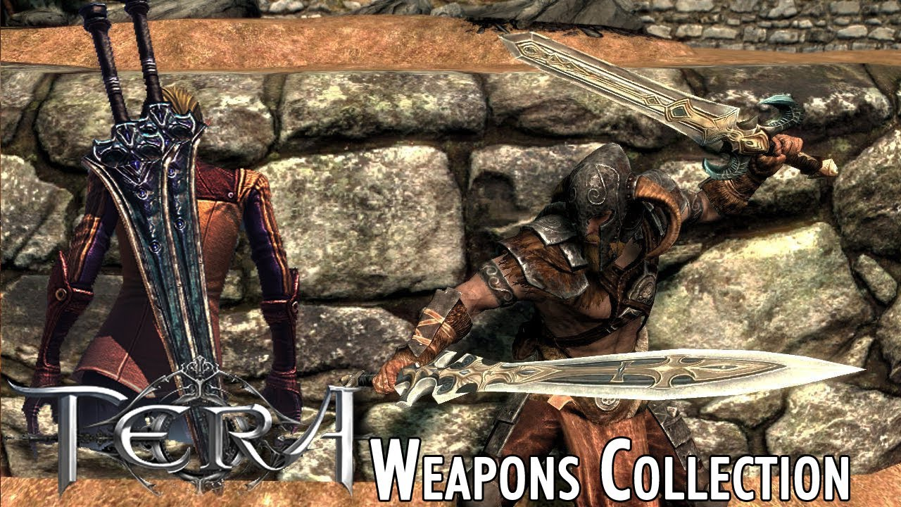 TERA Weapons Collection for Skyrim at Skyrim Nexus - mods and community