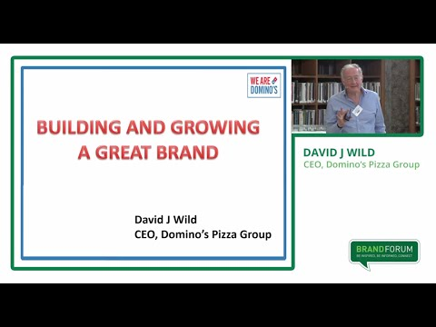 Bord Bia Brand Forum Knowing your Target Audience - David Wild, Domino's Pizza Group plc.