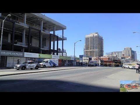 |4K| Toronto Rental Van Attack Emergency Response Compilation 23/04/18