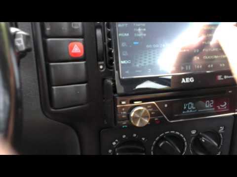 AEG DVD Autoradio AR 4026 Display Einstellung / justierung Anleitung [HQ][FHD][GER]