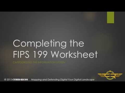 Task 1-3 Completing the FIPS 199 worksheet