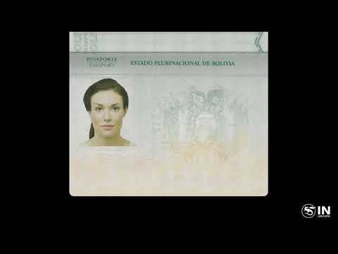 The New Bolivian Electronic Passport