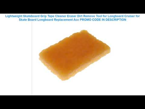 Cheap Lightweight Skateboard Grip Tape Cleaner Eraser Dirt Remove Tool for Longboard Cruiser for Sk