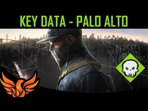Palo Alto - Key Data Location [Watch Dogs 2]