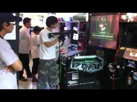 Best ever arcade shooting gamer in thailand
